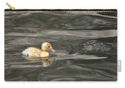Yellow Duckling Carry-all Pouch