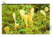 Yellow Fairy Fan Mushrooms Spathularia Flavida Carry-all Pouch