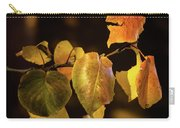 Yellow Fall Leaves Carry-all Pouch