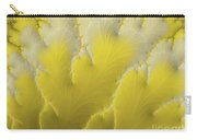 Yellow Feather Carry-all Pouch
