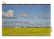 Yellow Fields And Blue Clouds Carry-all Pouch