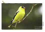 Yellow Finch Perching Carry-all Pouch