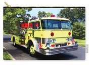 Yellow Fire Truck Carry-all Pouch