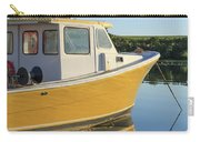 Yellow Fishing Boat Early Morning Carry-all Pouch