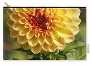 Yellow Flora Carry-all Pouch