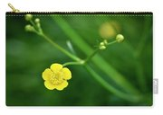 Yellow Flower Buttercup Carry-all Pouch