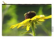 Yellow Flower In Sunlight Carry-all Pouch