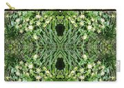 Yellow Flower Mandala 1 Carry-all Pouch