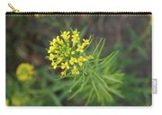 Yellow Flower Weed Carry-all Pouch