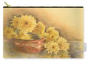 Yellow Flowers With Still Life Carry-all Pouch
