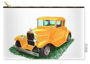 1932 Yellow Ford Hot Rod Coupe Carry-all Pouch