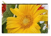 Yellow Gerbera Daisy Carry-all Pouch