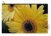 Yellow Gerbera Daisies Carry-all Pouch
