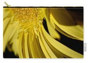 Yellow Gerbera Daisy By Kaye Menner Carry-all Pouch