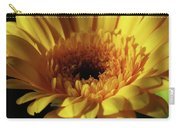 Yellow Gerbera Macro Carry-all Pouch