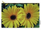 Yellow Gerberas Carry-all Pouch