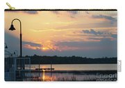 Yellow Gold Sunset Tapestry Carry-all Pouch