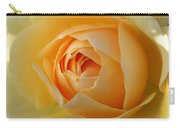 Yellow Graham Thomas Rose Carry-all Pouch by Jocelyn Friis