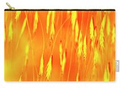 Yellow Grass Spikes Carry-all Pouch