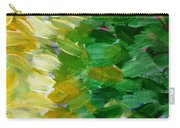 Yellow Green - Abstract Carry-all Pouch