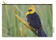 Yellow-headed Blackbird Carry-all Pouch