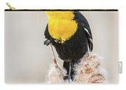 Yellow Headed Blackbird #4 Carry-all Pouch