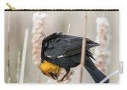 Yellow Headed Blackbird #7 Carry-all Pouch