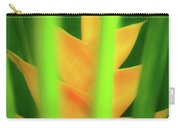 Yellow Heliconia - Tropical Hawaii - 957 Carry-all Pouch