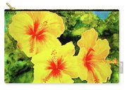 Yellow Hibiscus #65 Carry-all Pouch