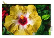 Yellow Hibiscus Flower 1 Carry-all Pouch