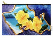 Yellow Hibiscus Hawaii State Flower #142 Carry-all Pouch