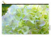 Yellow Hydrangea Flowers Art Prints Baslee Troutman Carry-all Pouch