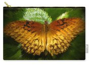 Yellow In The Garden Carry-all Pouch