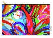 Yellow Iris Abstract Carry-all Pouch