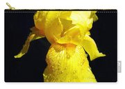 Yellow Iris After The Rain Carry-all Pouch