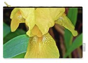 Yellow Iris At Pilgrim Place In Claremont-california Carry-all Pouch