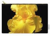 Yellow Iris Flower Still Life Carry-all Pouch