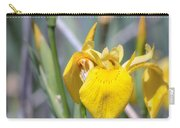 Yellow Iris Wild Flower Carry-all Pouch