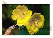 Yellow Is Gold Among The Flowers Carry-all Pouch