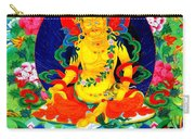 Yellow Jambhala 17 Carry-all Pouch
