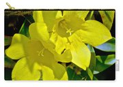 Yellow Jessamine At Pilgrim Place In Claremont-california Carry-all Pouch
