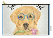 Yellow Lab-jp3869 Carry-all Pouch