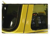 Yellow Lady Abstract Carry-all Pouch