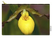 Yellow Lady's Slipper 3 Carry-all Pouch