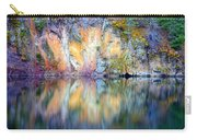 Yellow Lake Abstract Carry-all Pouch