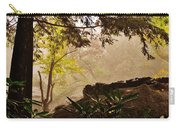 Yellow Leaves In The Mist Carry-all Pouch