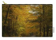 Yellow Leaves Road Carry-all Pouch