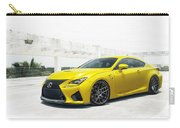 Yellow Lexus4 Carry-all Pouch