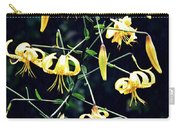 Yellow Lilies In Fort Tryon Park Carry-all Pouch