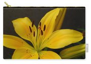 Yellow Lily 1 Carry-all Pouch